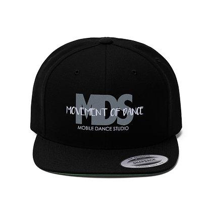 MDS Unisex Flat Bill Hat
