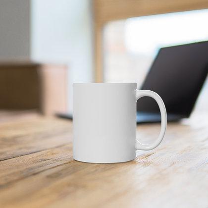 Five678 White Ceramic Mug