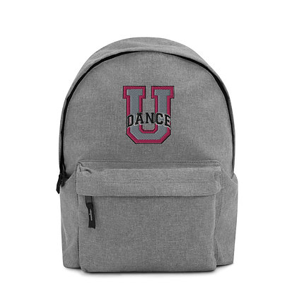 DANCE U Embroidered Backpack