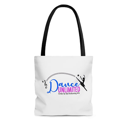 Dance Unlimited AOP Tote Bag