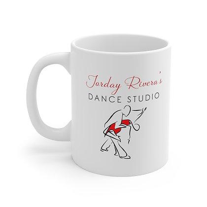 JRDS White Ceramic Mug