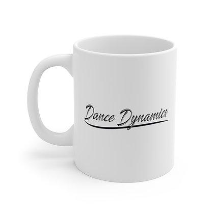 Dance Dynamics IN White Ceramic Mug