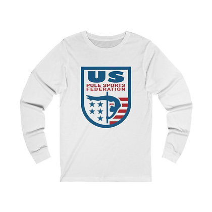 USPSF Adult Unisex Jersey Long Sleeve Tee