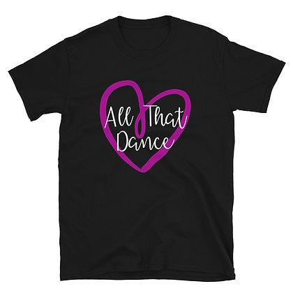 ATD HEART ADULT Short-Sleeve Unisex T-Shirt