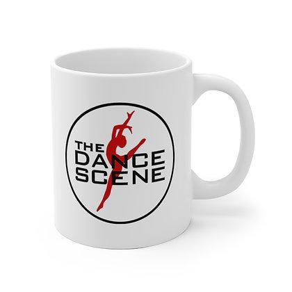 The Dance Scene White Ceramic Mug