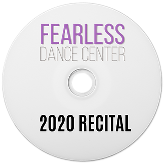 FEARLESS RECITAL BLURAY