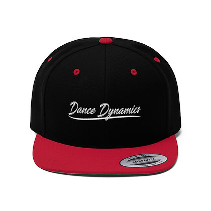 Dance Dynamics IN Unisex Flat Bill Hat