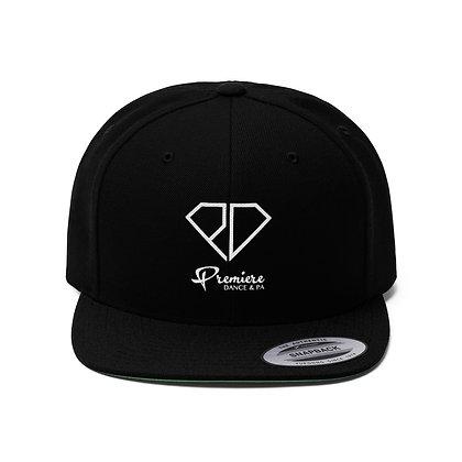Premiere Unisex Flat Bill Hat