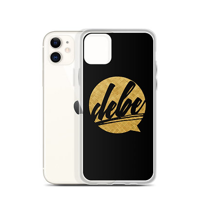 DEBE iPhone Case
