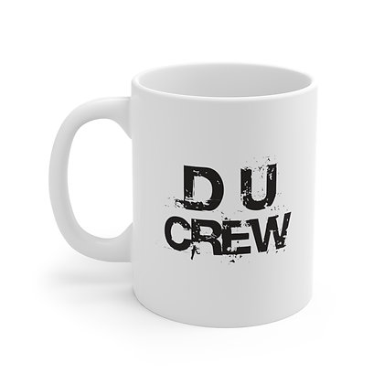 Dance Unlimited White Ceramic Mug