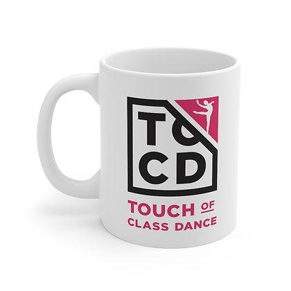 TOCD White Ceramic Mug