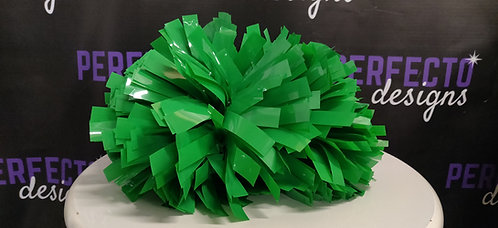 "32 New Green 5"" Poms"