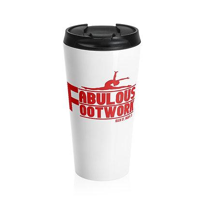 FF Stainless Steel Travel Mug