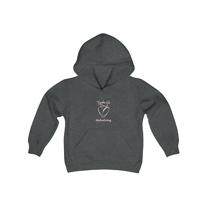 #pdcstrong Youth Heavy Blend Hooded Sweatshirt