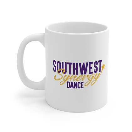 SWS White Ceramic Mug