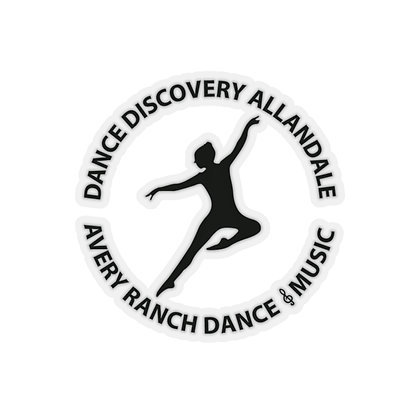 Dance Discovery Kiss-Cut Stickers