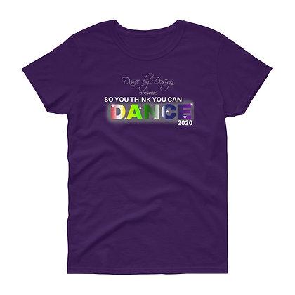 DBD Recital Women's short sleeve t-shirt