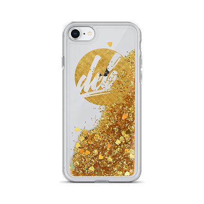 DEBE Iphone Liquid Glitter Phone Case