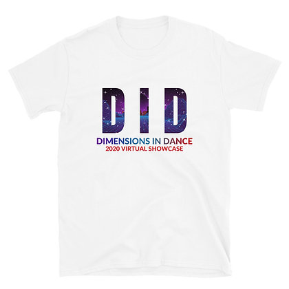 DID Recital Stars Adult Short-Sleeve Unisex T-Shirt