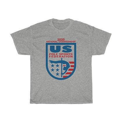 USPSF Adult Unisex Heavy Cotton Tee