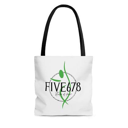 Five678 AOP Tote Bag