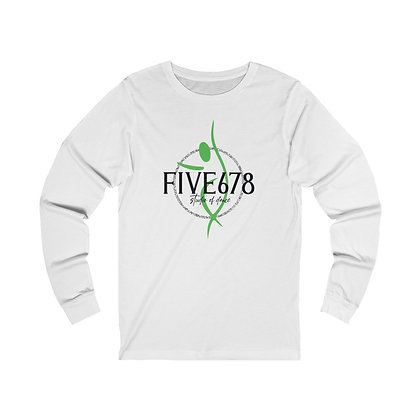 Five678 Adult Unisex Jersey Long Sleeve Tee