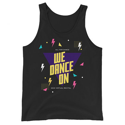 We Dance On Adult Unisex Tank Top