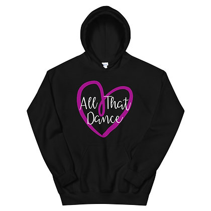 ATD HEART Adult Unisex Hoodie