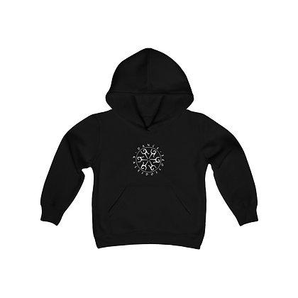 Dance Kaleidoscope Youth Heavy Blend Hooded Sweatshirt