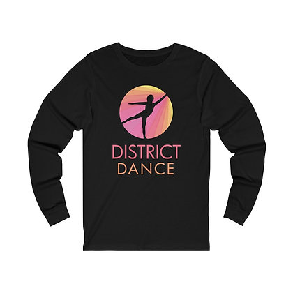 District Adult Unisex Jersey Long Sleeve Tee