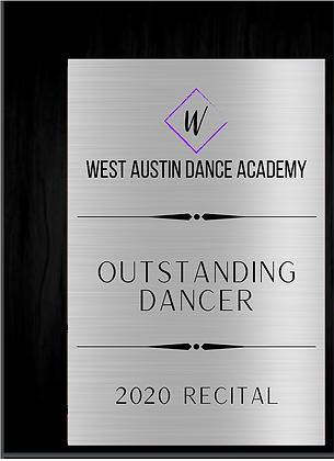 West Austin Award (5x7)