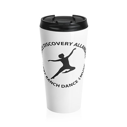Dance Discovery Stainless Steel Travel Mug