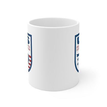 USPSF White Ceramic Mug