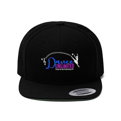 Dance Unlimited Unisex Flat Bill Hat