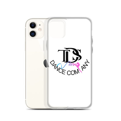 TDS White iPhone Case