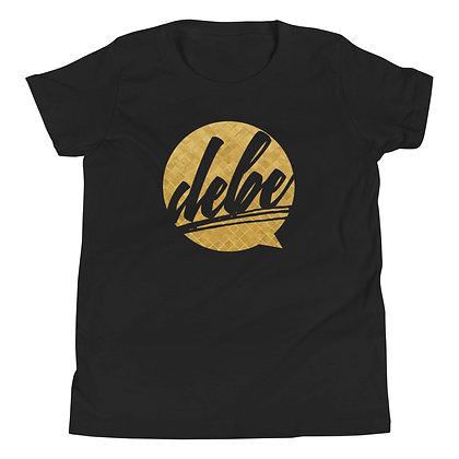 DEBE Gold Youth Short Sleeve T-Shirt