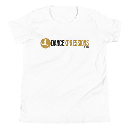 DEBE Gold/Black Youth Short Sleeve T-Shirt
