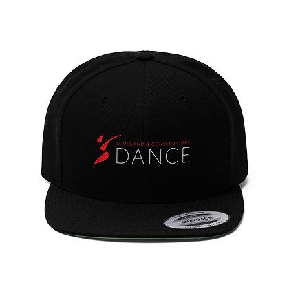 LCD Unisex Flat Bill Hat