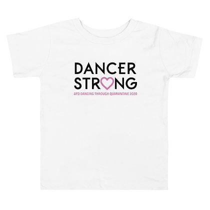 Dancer Strong Toddler Short Sleeve Tee