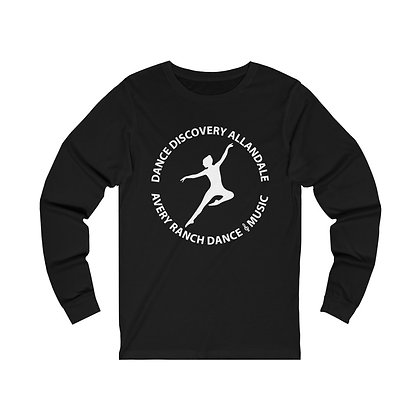 Dance Discovery Adult Unisex Jersey Long Sleeve Tee