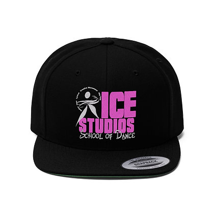 ICE Unisex Flat Bill Hat
