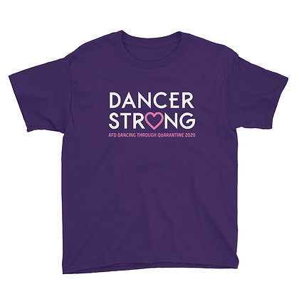 Dancer Strong Youth Short Sleeve T-Shirt