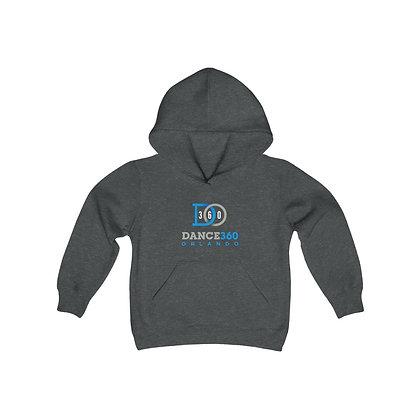 Dance360 Youth Heavy Blend Hooded Sweatshirt