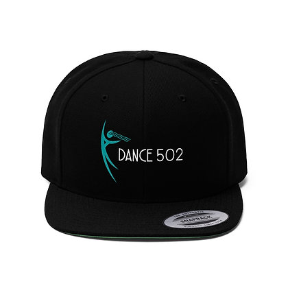 Dance502 Unisex Flat Bill Hat