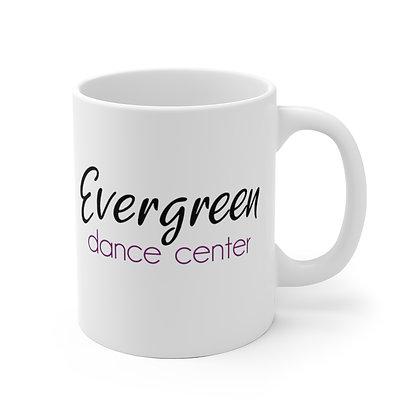 Evergreen White Ceramic Mug