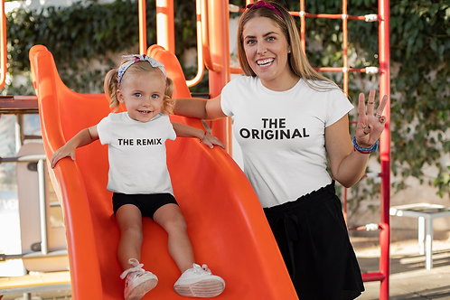 The Remix Toddler Tee