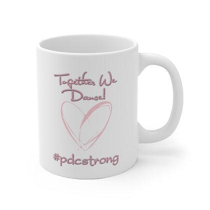 #pdcstrong White Ceramic Mug