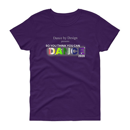 DBD Recital Women's short sleeve t-shirt