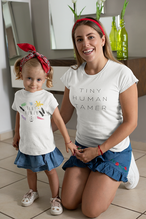 Tiny Human Toddler Tee