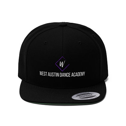 WADA Unisex Flat Bill Hat